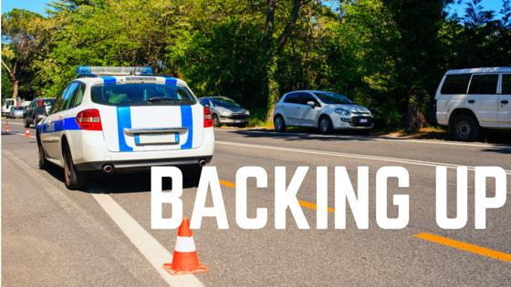 PoliceDriver.Com - Backing Up