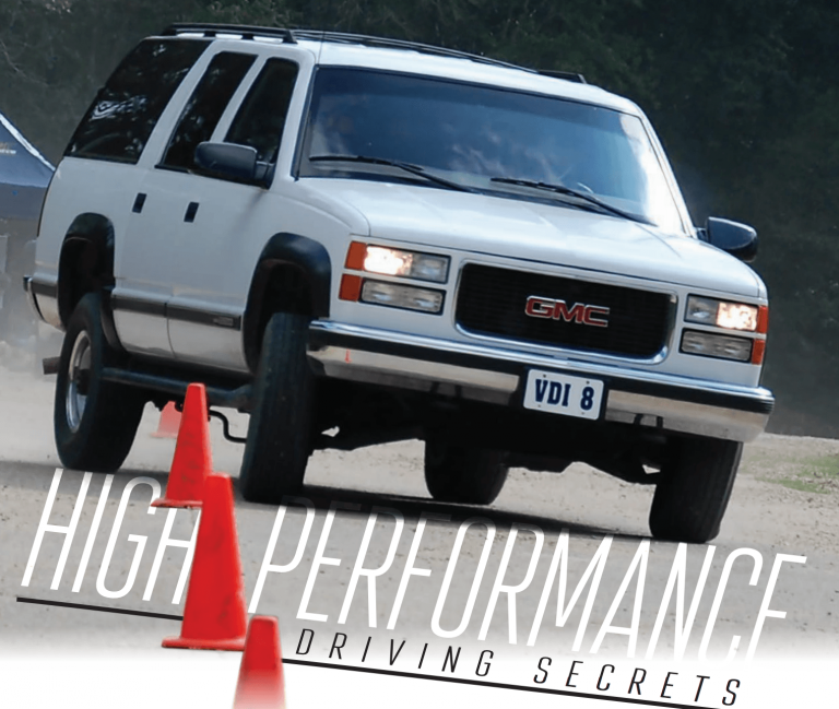 """""""High Performance Driving"""" – Scientifically Measuring Driving Skills."""