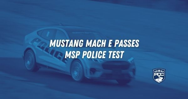 Mustang Mach E Police Package EV